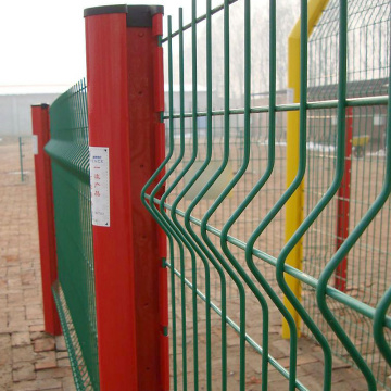 3D dilas Wire Mesh Curvy Welded Pagar Panel