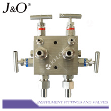Stainless Steel Instrument 5 Way Valve Manifold