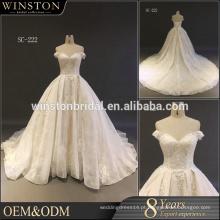 Venda por atacado novo vestido de noiva de desenhos