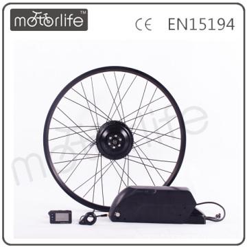 MOTORLIFE / OEM marque 2015 CE ROHS passer 350 w 20 pouces électrique vélo moteur kit, kit de moyeu de roue kit diy