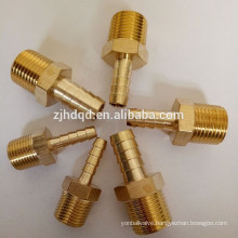 Brass Air Compressor Hose Male Connector Fittings , high quality