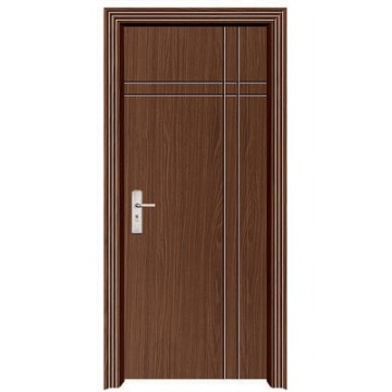 Interior mdf wooden pvc glass door china manufacturer Interior doors manufacturers