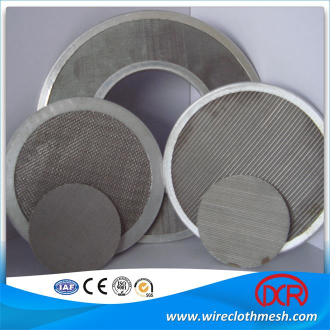 Wire Cloth Filter Disc