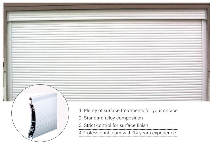 Aluminium Profile Rolling Shutter Door