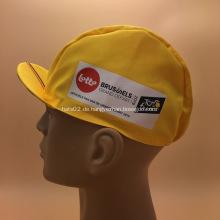 Benutzerdefinierte Werbe Radfahren Caps mit Logo gedruckt