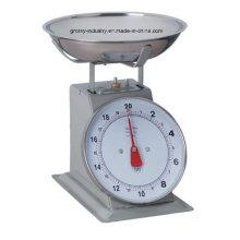 Механическая кухонная весы с лотком