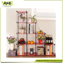 Display Grid Cube Storage Book Shelf Metal Rack