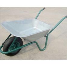 Carretilla / Carretilla de rueda galvanizada (WB6414R)