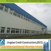 Structure en acier de construction d'usine de qualité et de meilleur vendeur