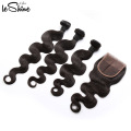 30% OFF FREE SHIPPING U.S. Body Wave Hair With Closure