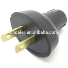 2 Splder Pin Plug Adapter ASP-1200 Black Head