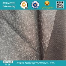 Woven Fusible Waterjet Interlining 70GSM with Pes Coating