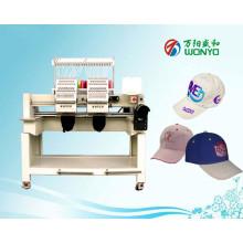 Wonyo 2 Kopf Computergestützte Stickmaschine für Cap / Hut / T-Shirt / Logo / Flat / Bekleidungsstickerei