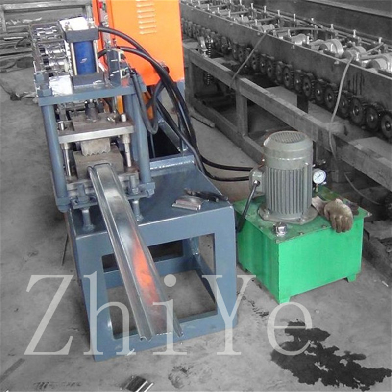 Galvanized Steel Shutter Shutter Roll Forming Machine