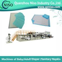 Máquina de producción de bajo cojín altamente eficiente con servocontrol (CD150-HSV)