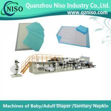 Máquina de produção de alta eficiência sob almofada com servocontrole (CD150-HSV)