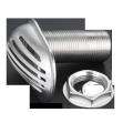 Intake strainer stainless steel marine hardware