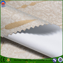 Jacquard Polyester Fr Coated Flocking Shading Curtain Fabric with Star and Rain Pattern