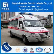 IVECO Ambulance d'urgence NJ5044 voiture d'ambulance vente chaude IVECO Ambulance d'urgence