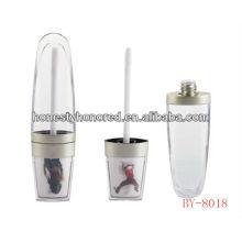 Leeres Lippenglanzrohr, mit Schwammapplikator