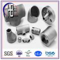 Stainelss Conexiones de soldadura a tope de acero Accesorios de tubería Ss304 316