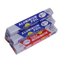 Papel de aluminio de calidad alimentaria para alimentos