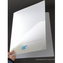 Fábrica de plástico personalizado archivo de PVC / documento / libro cubierta (carpeta de libro)