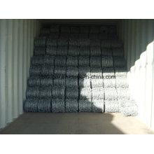 Alambre de púas galvanizado Electro galvanizado