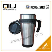 Trade Assurance for eco-friendly tea travel mug with handle