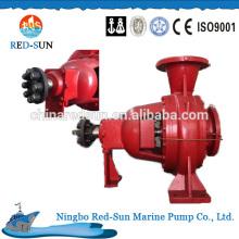 Pompe à eau électrique de haute qualité, fabricant de porcelaine Pompe à incendie marine