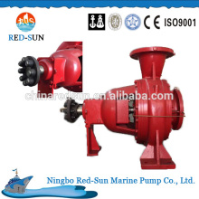 High quality electrical fire water pump, china manufacturer marine fire pump