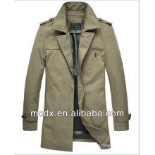 2016 Hot sale slim men's trench coat