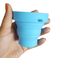 Fast Delivery for Best Pill Box,Drug Bottle Case,Plastic Clamshell Box,Medicine Vitamins Container Manufacturer in China Silicone Foldable Sterilizing Cup for Menstrual Moon Cup supply to Netherlands Antilles Wholesale