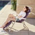 Outdoor folding chair folding camping chair beach folding chair