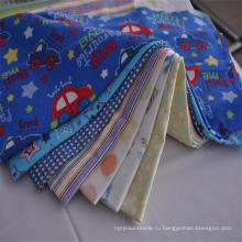 Фабрика новый дизайн 20*10 40*42 100% хлопок фланель ткань для детей и постельных принадлежностей