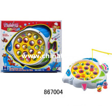 The Popular Plastic Toys B/O Fishing Game with Music (867004)