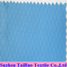 100% Polyester Grid Oxford for Bag Fabric
