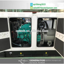 Silent Or Open 250kva diesel generator powered by UK engine 1506A-E88TAG3