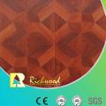 Suelo laminado absorbente acústico del roble comercial del 12.3mm E0 AC4