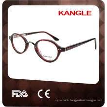 2017 Small round eyeshape reading glasses style Acetate optical glasses