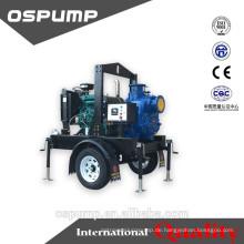 Selbstansaugende Pumpen-Anhänger-Abwasserpumpe mit 6 Zoll mit berühmter Marke deisel