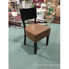 Cuero europeo al por mayor de los muebles del diseño que usa la silla del café