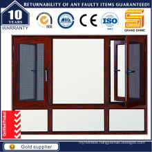Aluminum Casement Windows with Insert Mobile Louver
