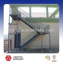 escaliers en acier de l'industrie pour l'atelier ou l'entrepôt