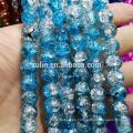 Cheap 210pcs 4 mm Crystal Crackle perlas cuentas sueltas de vidrio al por mayor