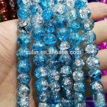 Pas cher 210 pcs 4mm cristal craquelé perles de verre en vrac perles en gros