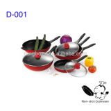 die cast aluminum non-stick cookware set