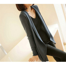 Hot Sale Mode Haute qualité Ladies Knitwear Long Casual Slim Fitting Knitting Cardigan Femme