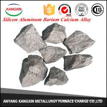 Chine Métallurgie d'or Fabricant d'alliage de calcium de baryum en aluminium de silicium