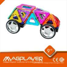 3D Magnetic Building Set / magnético plástico bloques especiales Imanes